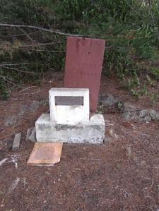 John's Grave Site in the Tokatoka Cemetery