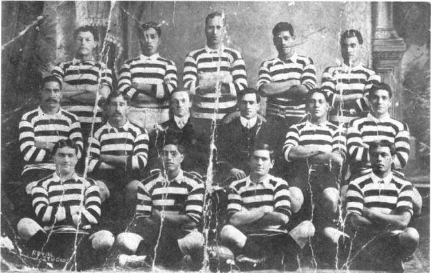 1908 NZ Maori RL Team - 100 years of Maori RL.