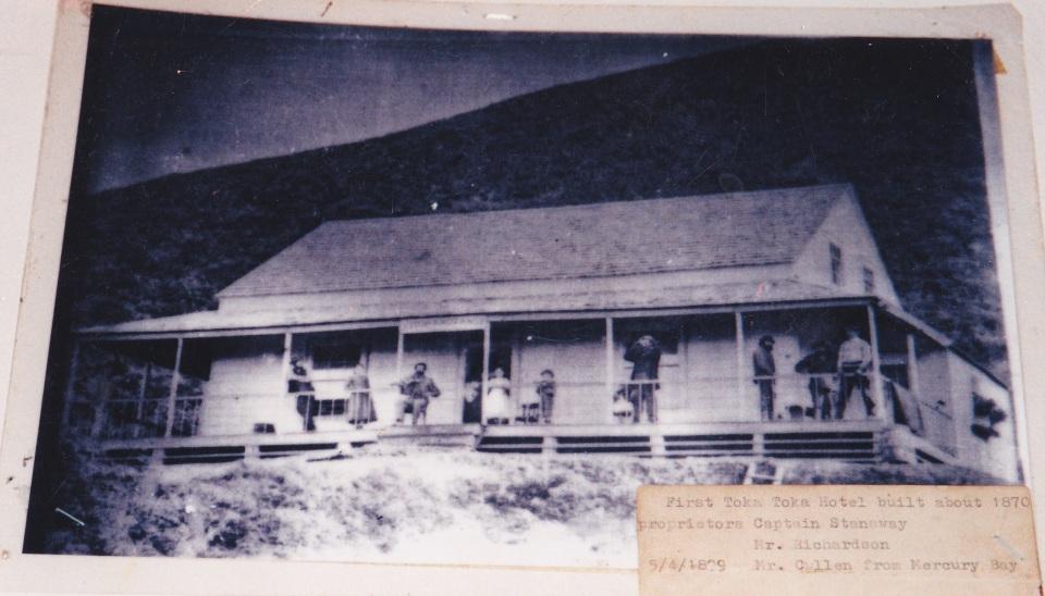 The first Tokatoka Hotel
