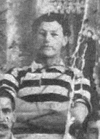Alexander in 1908 tour team photograph - NZRL 75th Jubilee Programme.