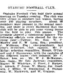 AOtahuhu Football Club - Auckland Star 24 March 1915