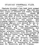 AOtahuhu Football Club - Auckland Star 24 March 1915