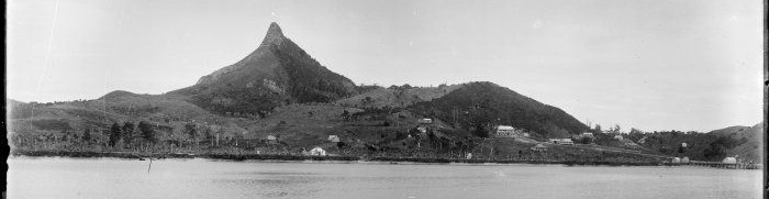 Tokatoka c.1900 on the banks of the Northern Wairoa River, Kaipara.