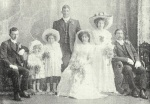 Ida's Wedding, Jack Stanaway and his daughter are part of the wedding party. - Tides of Time - Editors note - could the holder of this orignal photograph make contact.