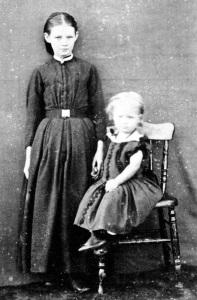 Elizabeth Heath Clark with Phoebe or Laura Stanaway - Copy