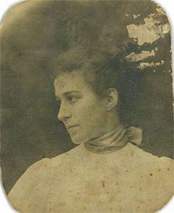 Ethel Flora McCabe - Hill Family Collection.