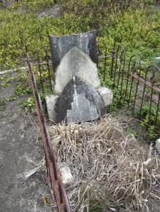 Grave Site at Tokatoka Cemetery.