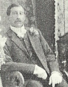 "John ""Jack"" Stanaway at his sister Ida's wedding 1910. - Tides of Time."