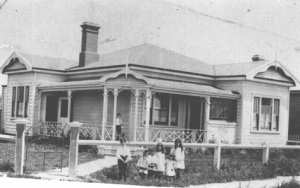 Kia Ora - Family home at Mangawhare - Hill Family Collection.