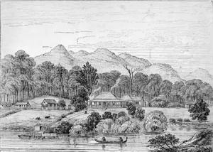 The Mission Station at Tangiteroria - Alexander Turnbull Collection