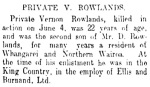 Article about Vernon - New Zealand Herald 30.06.1917
