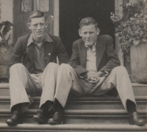 Brothers, Colin and Rex Stanaway - Colleen Stanaway Collection.