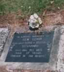 Grave site - Colleen Stanaway Collection.