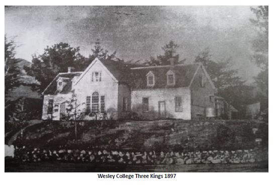 Wesley College Three Kings 1897